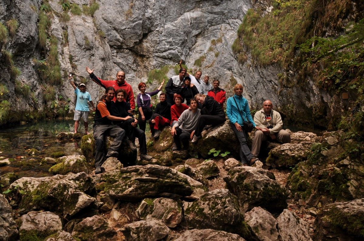 0211 Fotografie de grup, Izbucul Tauz, Valea Garda Seaca, Muntii Bihor_resize