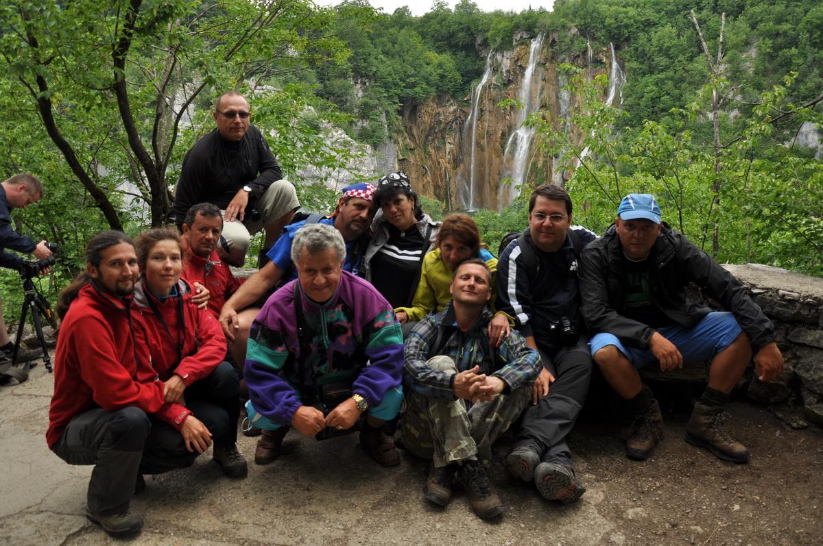 082 Fotografie de grup, PN Plitvička Jezera, Croatia_resize