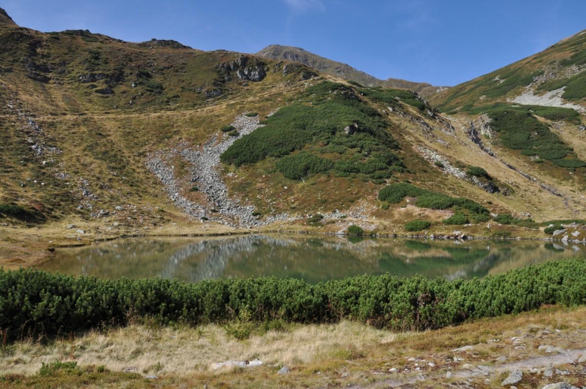 093 Lacul Lala Mare, Valea Lala, Muntii Rodnei