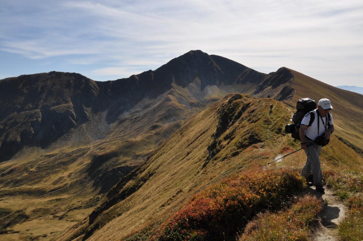 324 Traseul de Creasta intre Saua cu Lac 2140m si Saua Gargalau 1907m, Muntii Rodnei
