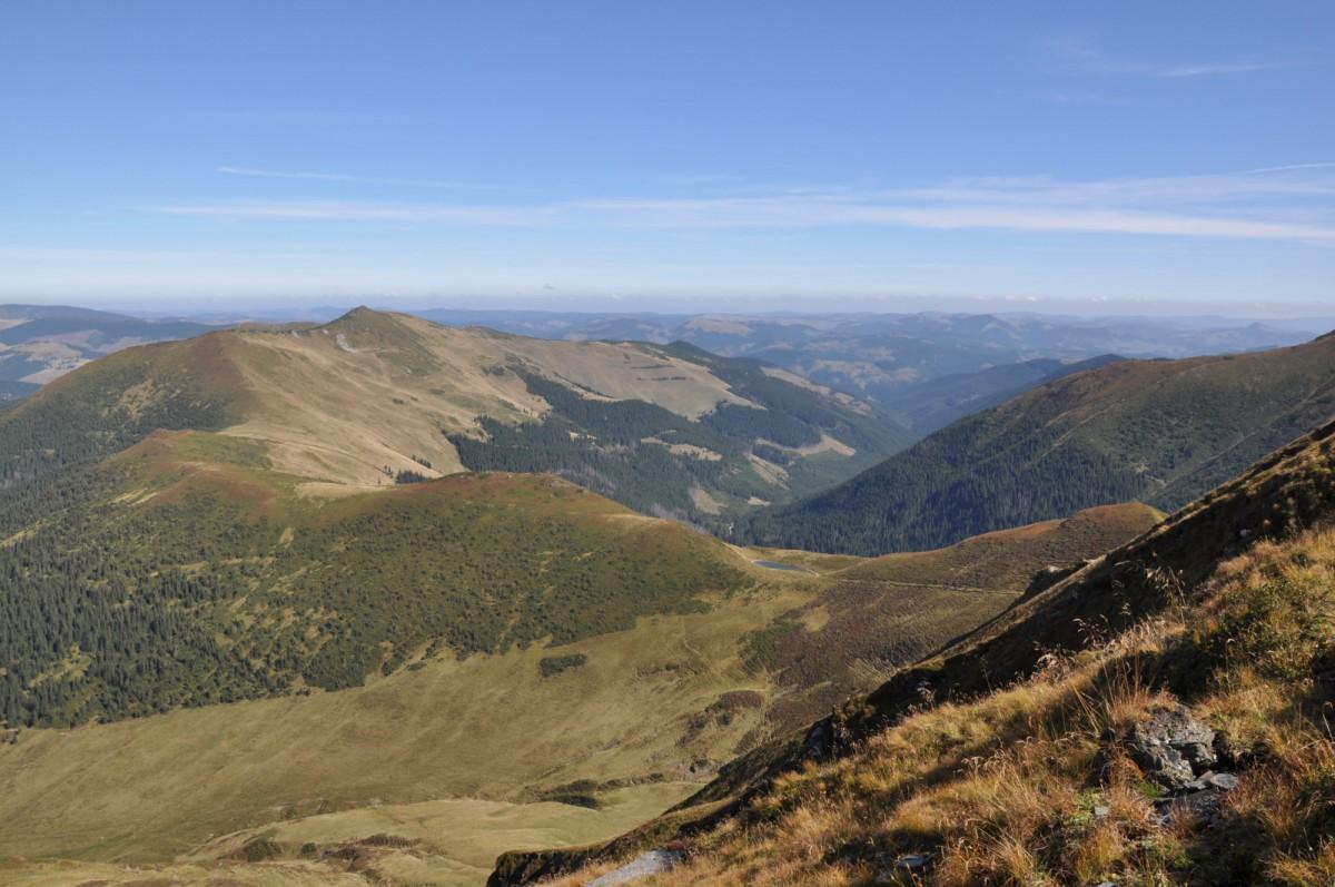 328 Traseul de Creasta intre Saua cu Lac 2140m si Saua Gargalau 1907m, Muntii Rodnei