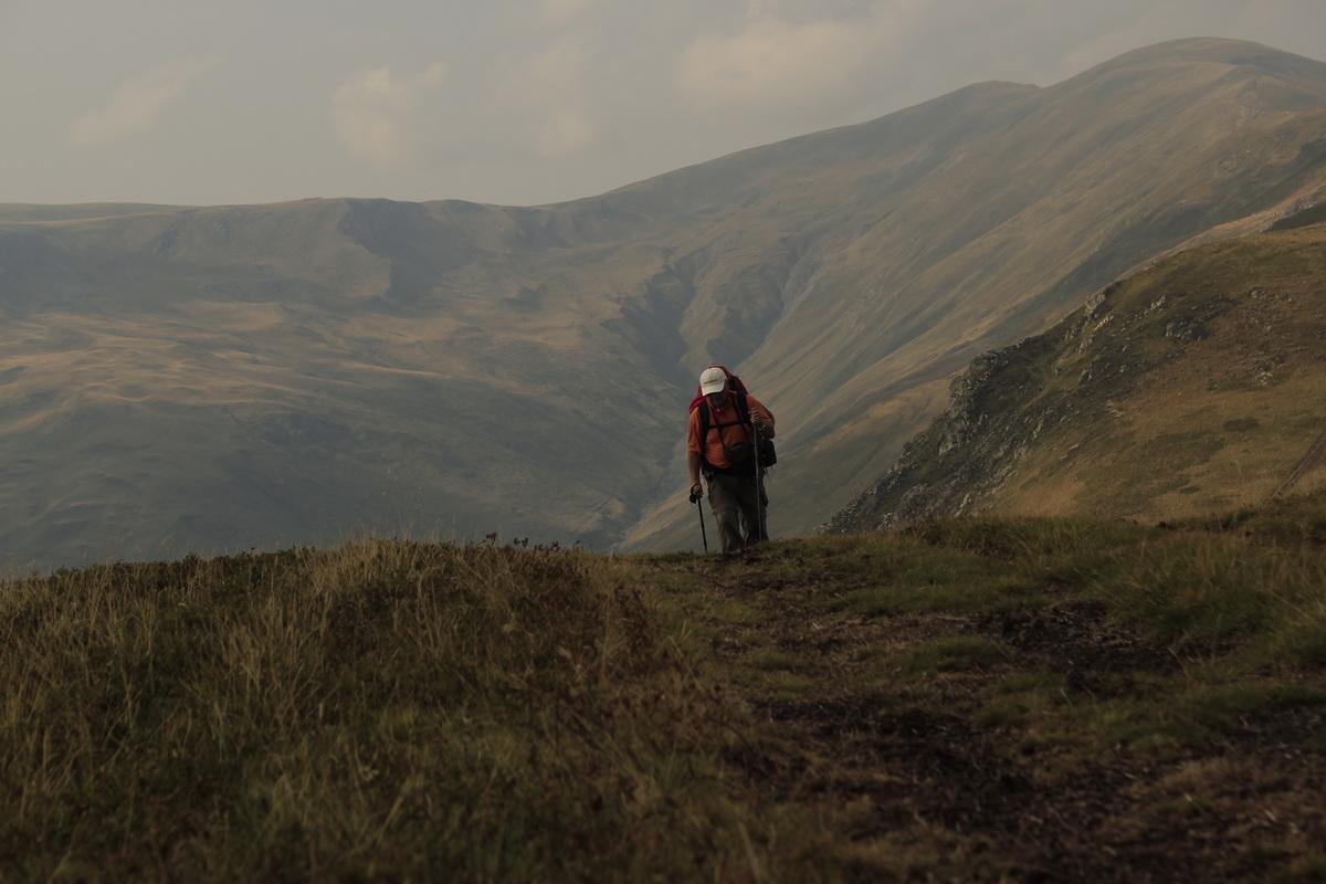 Omul si muntele