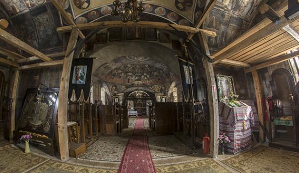 Biserica Sibiel interior