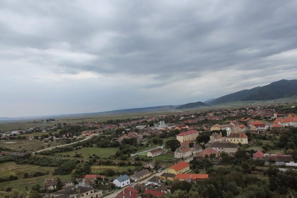 Marginimea Sibiului de pe dealul Cetatii