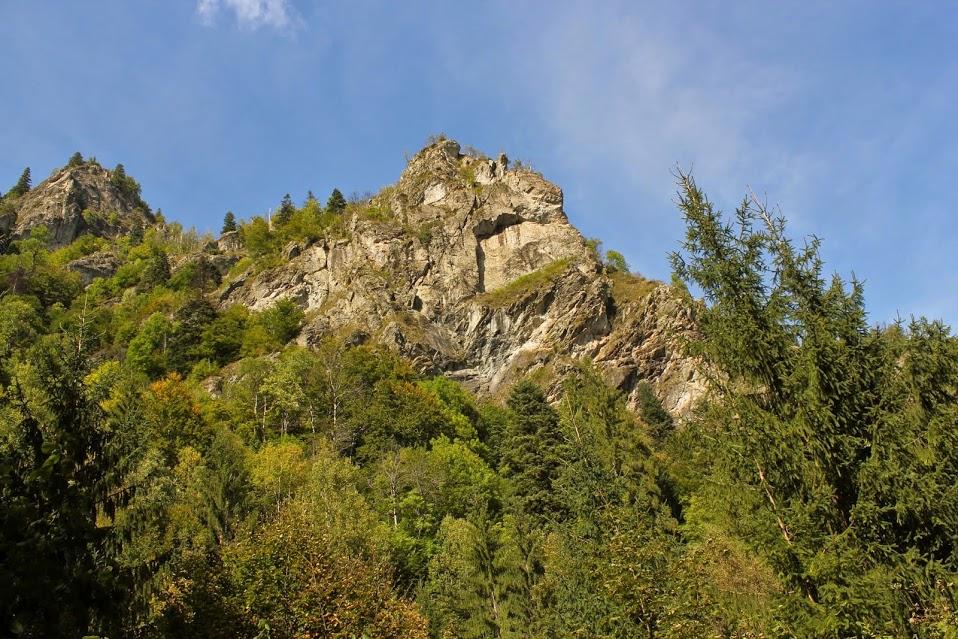 Calcare pe valea Rudaresa