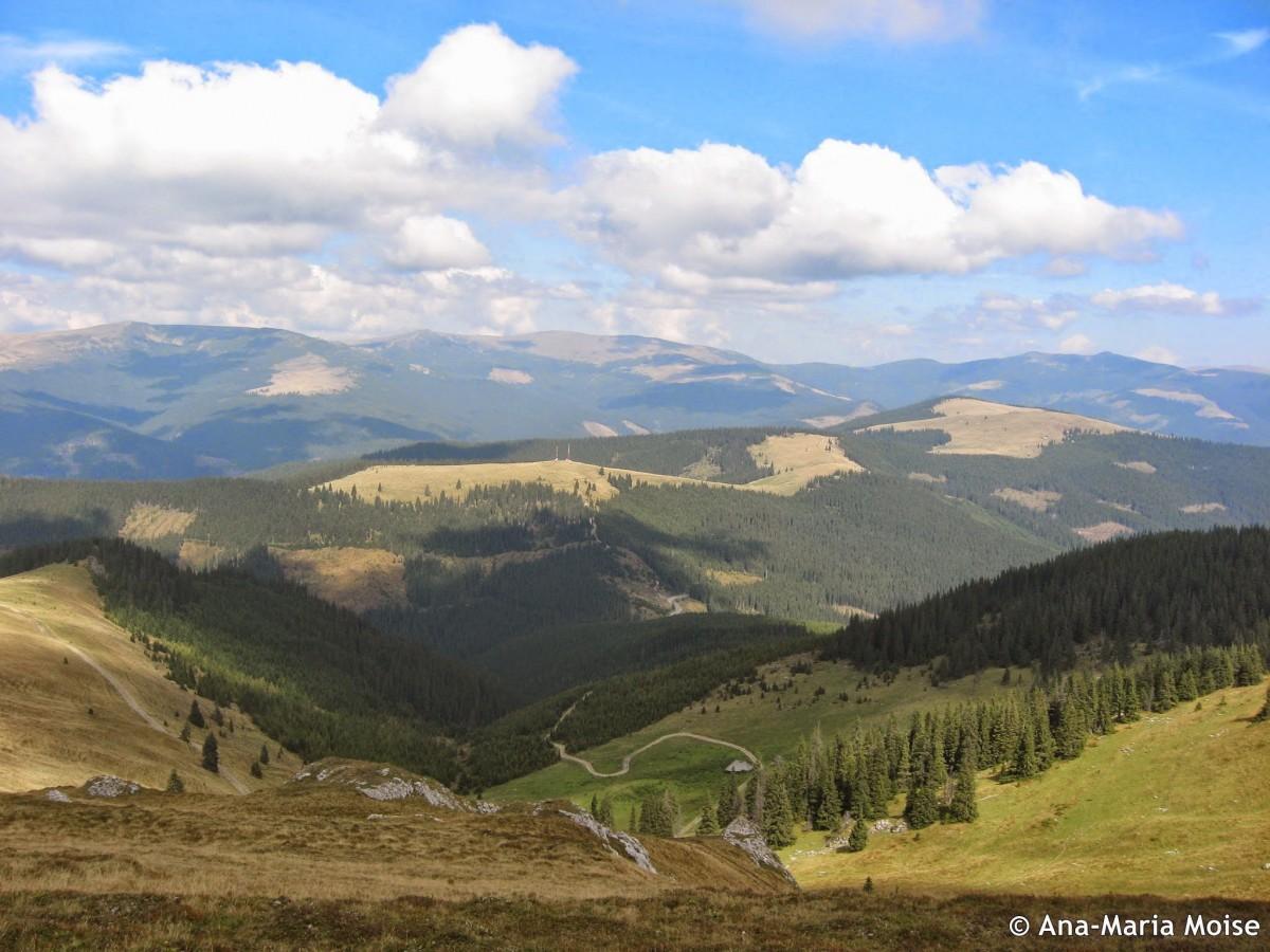 De pe Fratosteanu la vale