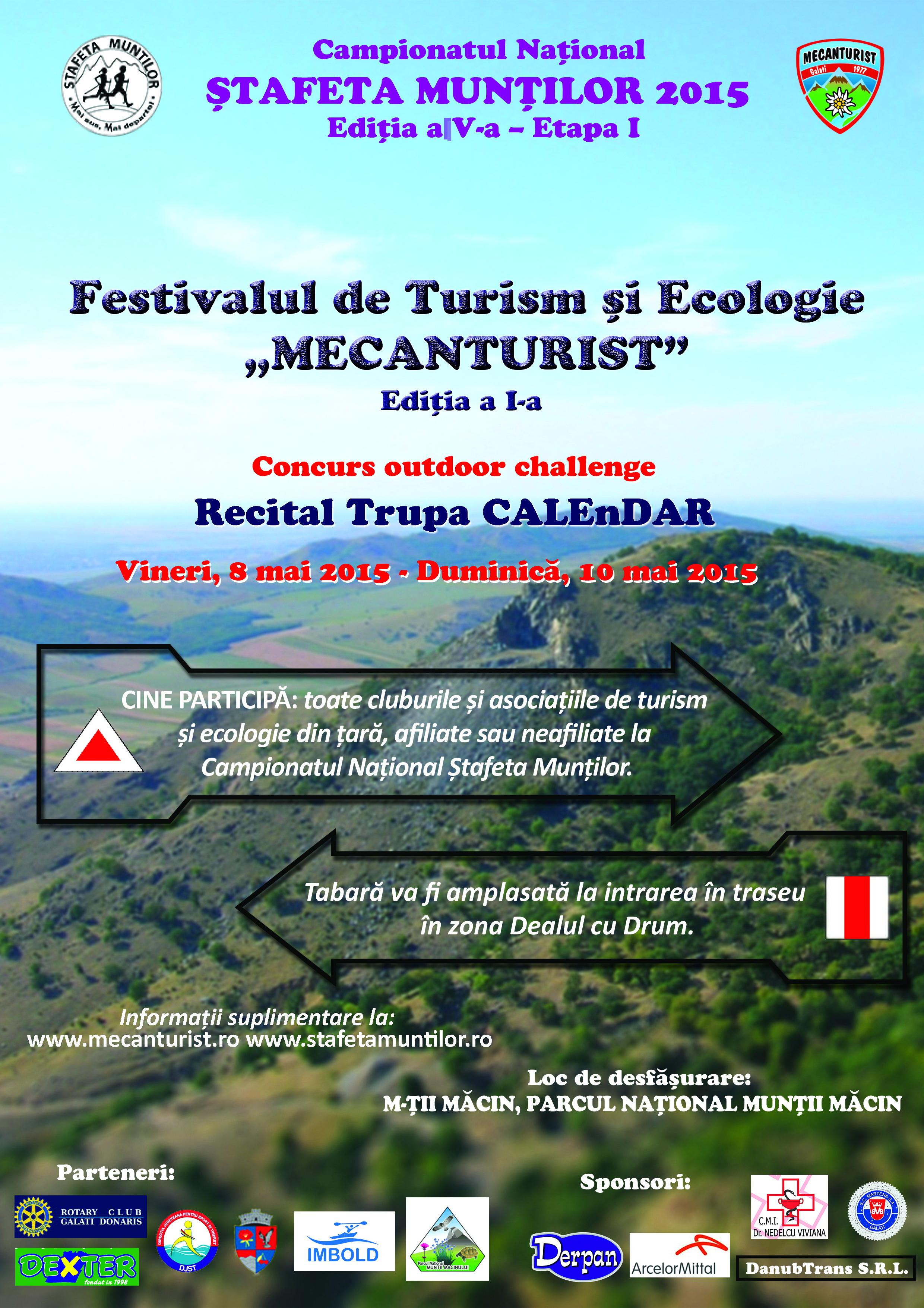 Festivalul de Turism si Ecoplogie -MECANTURIST