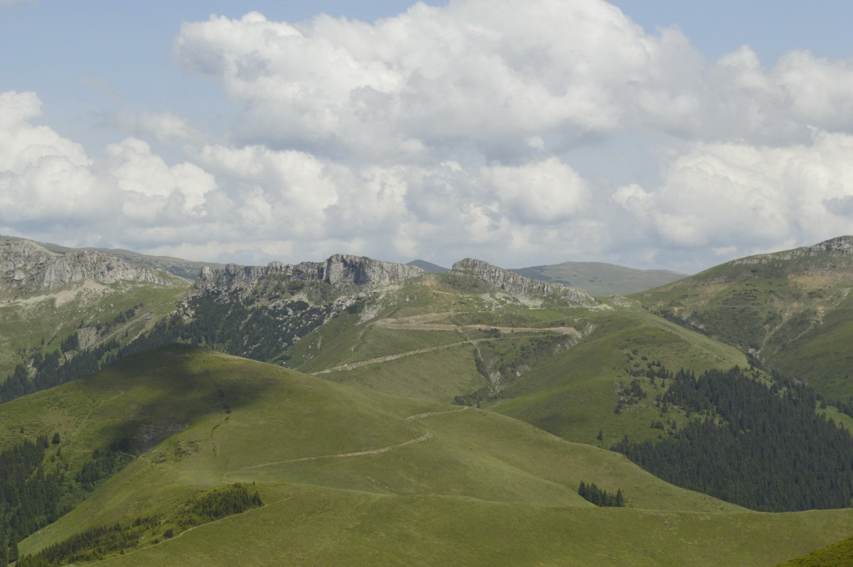 Spre vârful Bucsa